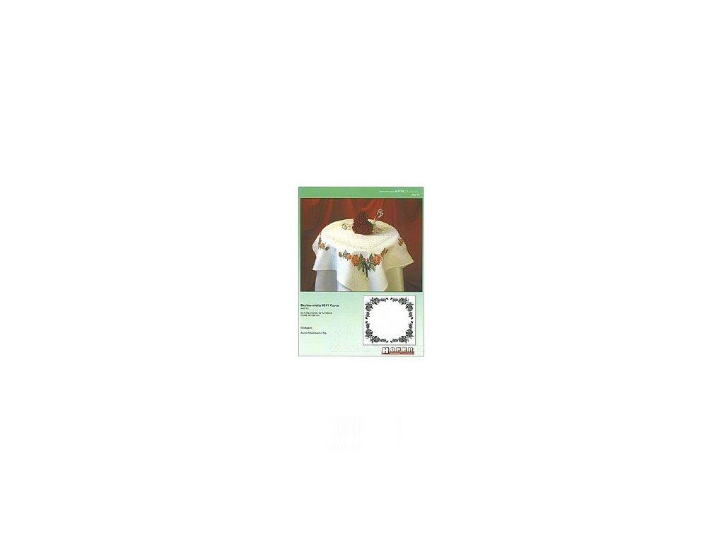 HOF951019 Květinový ubrus (předloha)