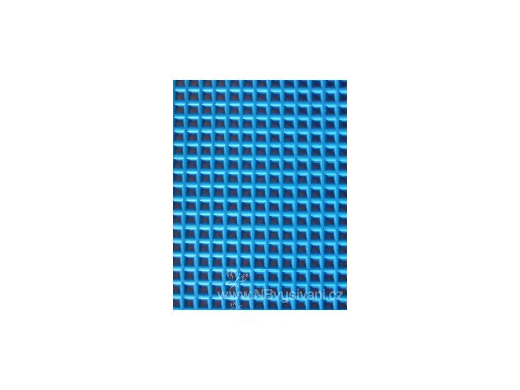 D33900-25 Plastová Aida 7ct neon. modrá (34x27cm)