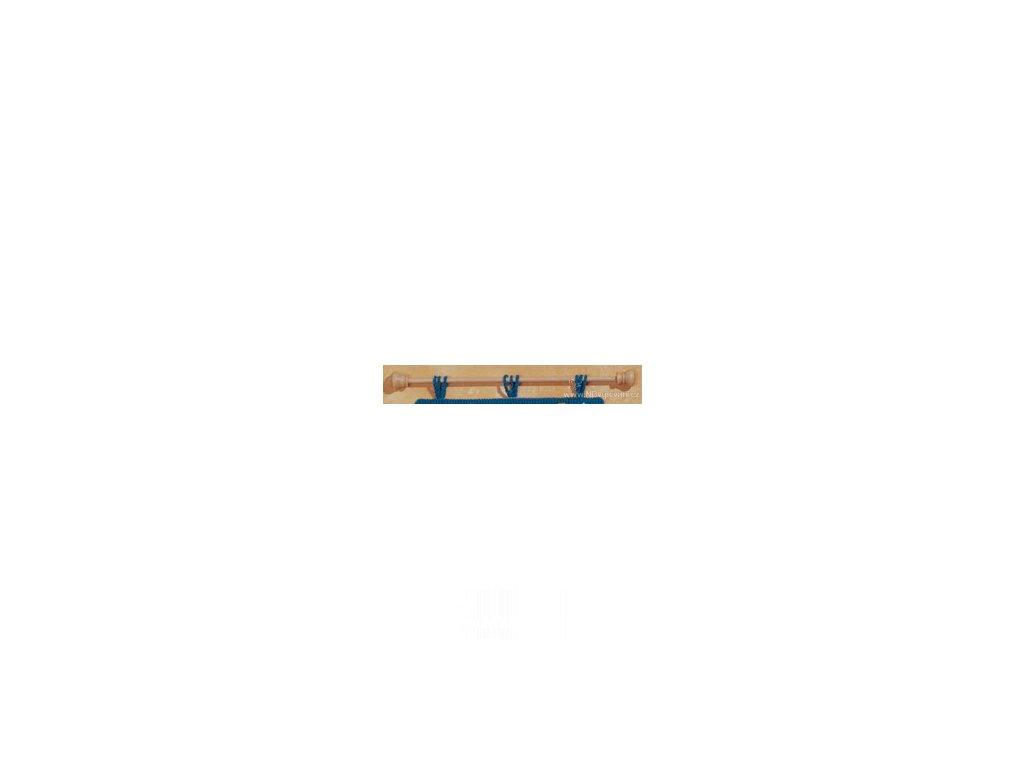 VE1325-41 Dřevěná tyč k závěsům na stěnu (41cm)