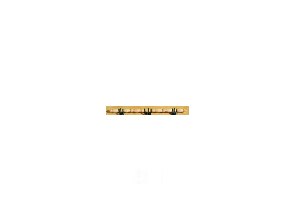 VE1325-72 Dřevěná tyč k závěsům na stěnu (72cm)