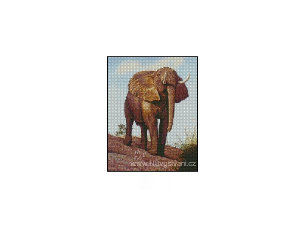Elephant (Aida 18ct)