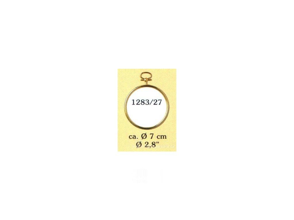 VE1283-27 Plastový rámeček - kruh