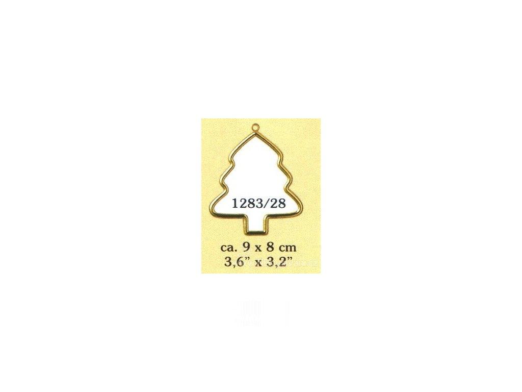 VE1283-28 Plastový rámeček - stromeček