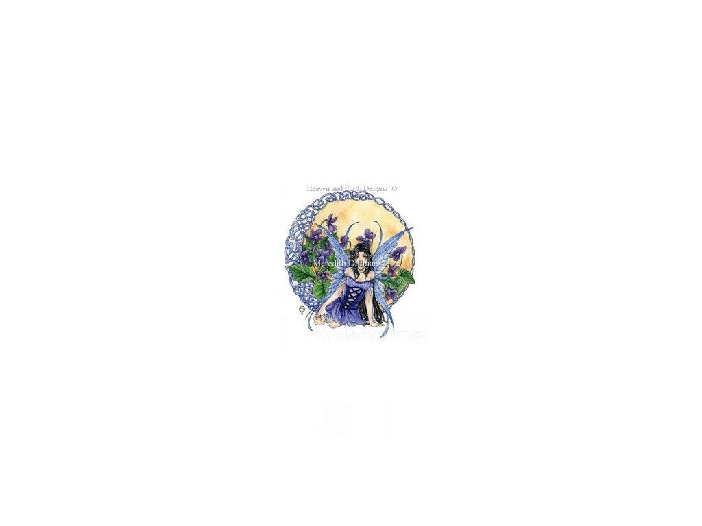 HAED - Celtic Violet (Lugana 25ct)