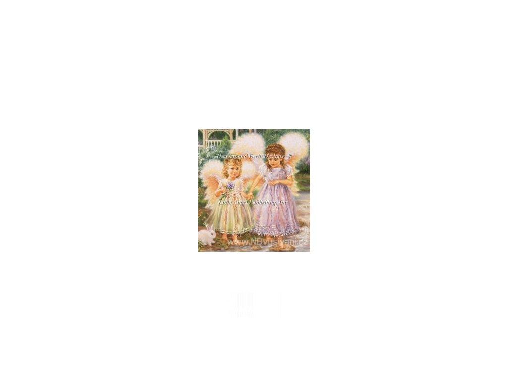 HAED - QS Sister Angels (Lugana 25ct)