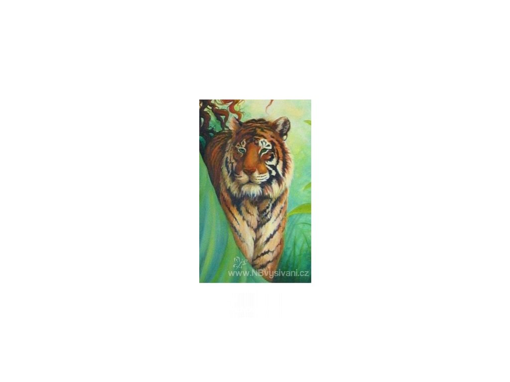 HAED - QS Earth Tiger (Aida 18ct)