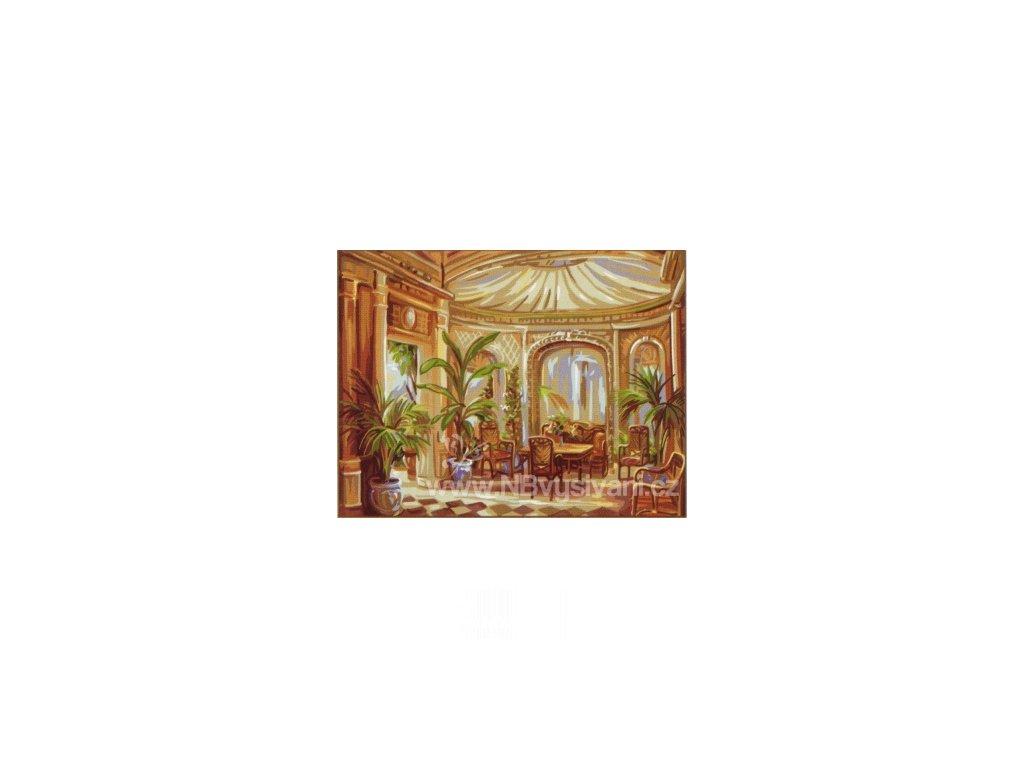 ARP988.0142.468 Okrasné palmy v salónku