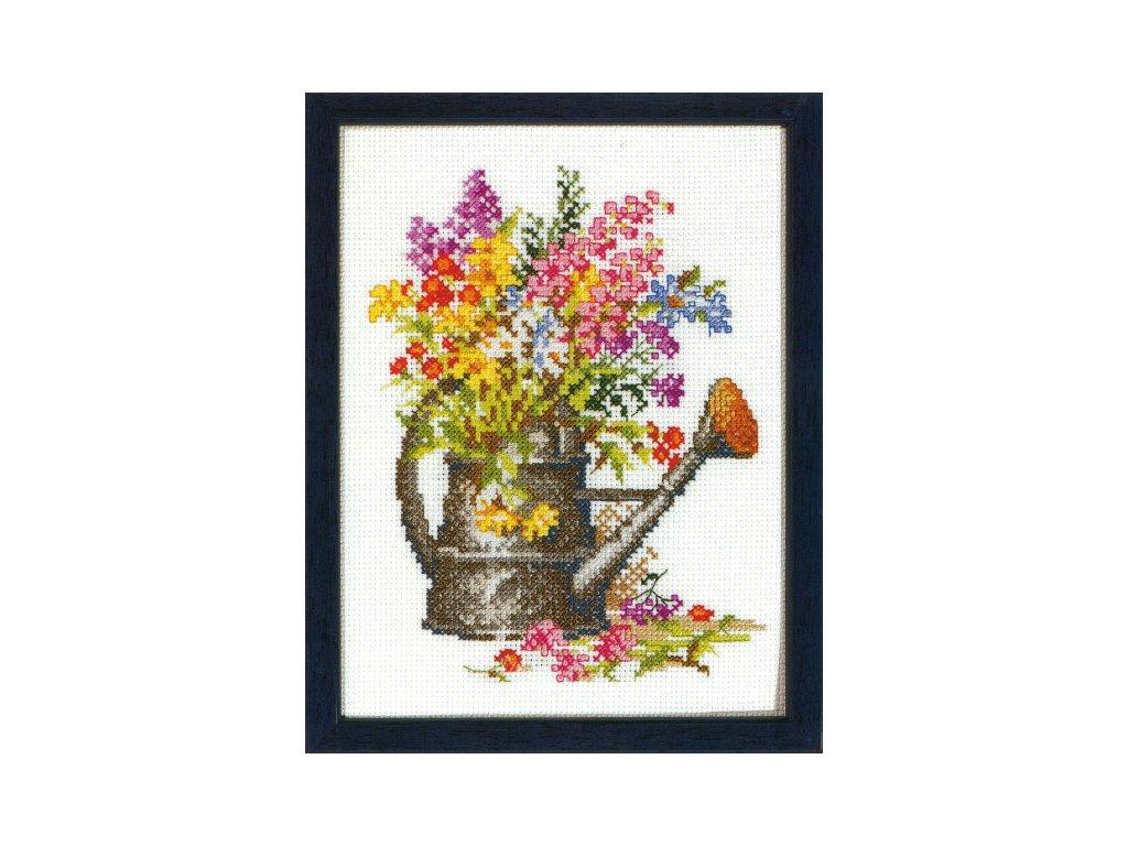 PA215.364 Konev s květinami