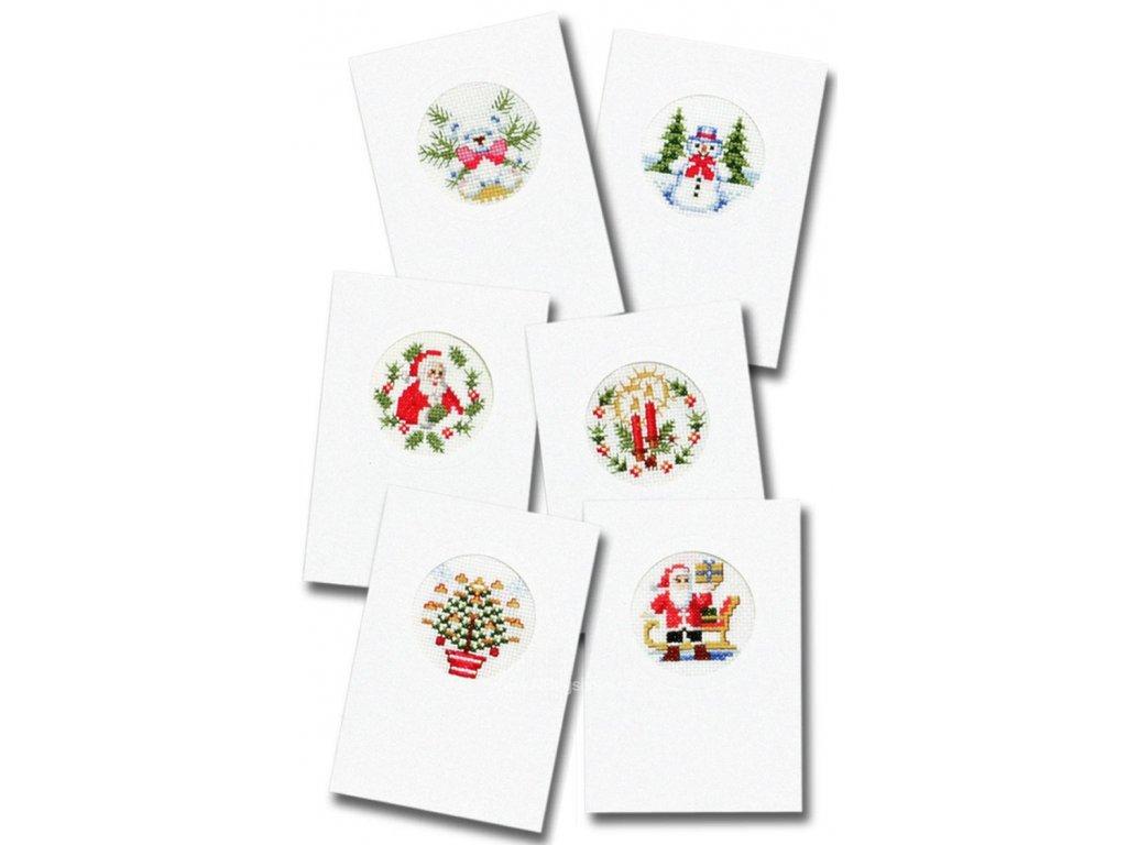 PA203.200 Vánoční přání (6ks)