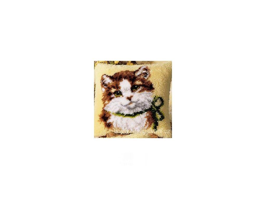 VE2560-3541 Polštářek s kočkou (tapico)