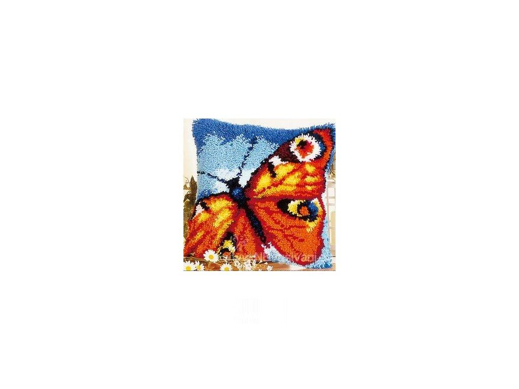 VE2560-3608 Polštářek s motýlem (tapico)