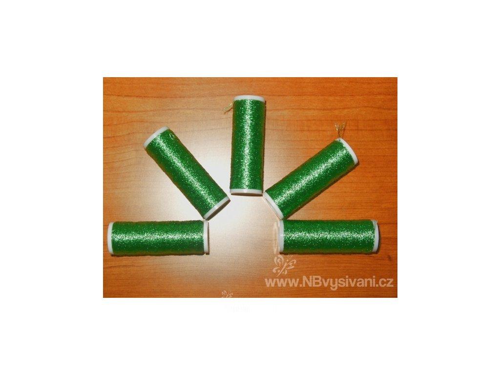 V75039-316 Metalux zelený - trávová zeleň
