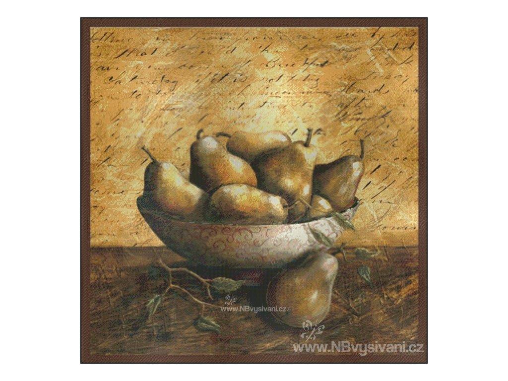 Pears (Aida 18ct)