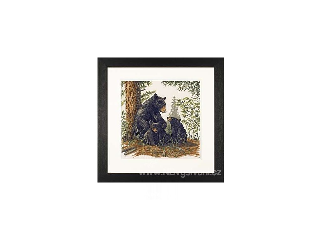 L35094 Medvěd s mláďaty (doprodej)