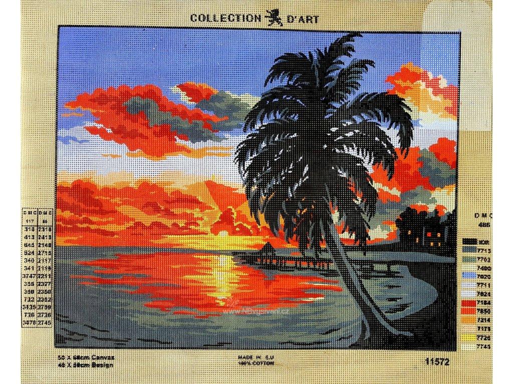 ADA11.572 Západ slunce v Karibiku