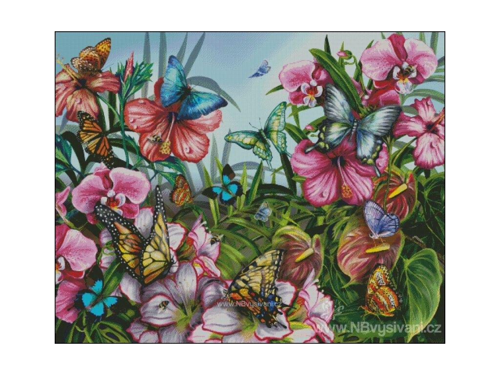 Butterfly Garden (Aida 18ct)