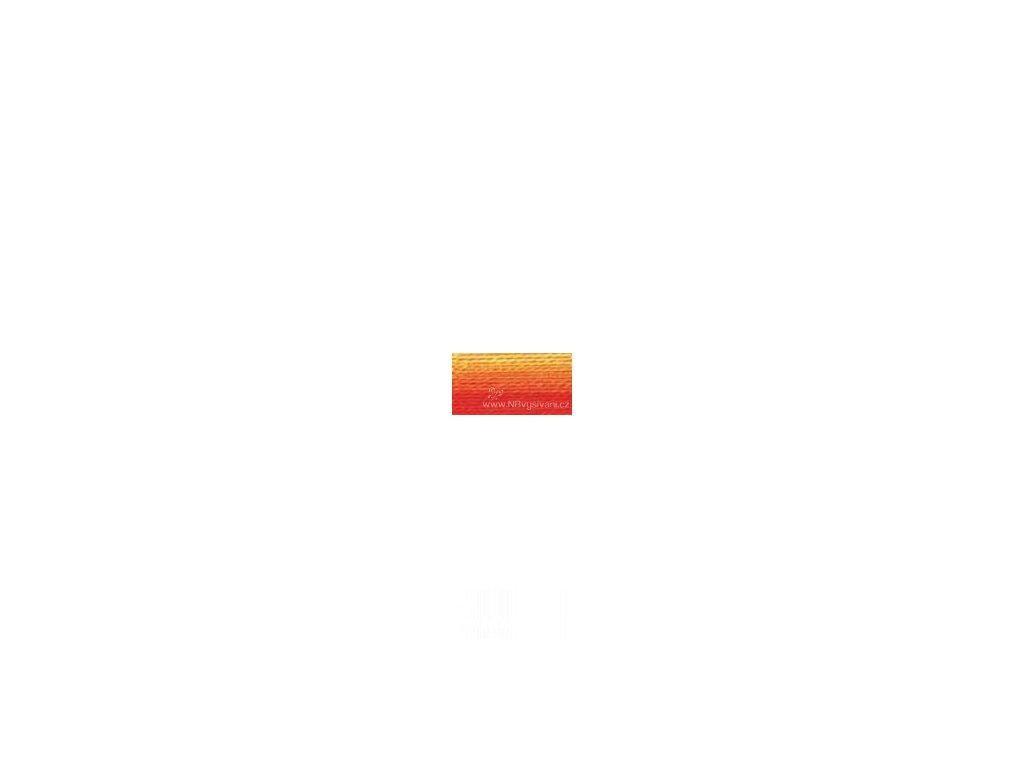 DMC117-051 Melírovaná příze - Burnt Orange (8m)