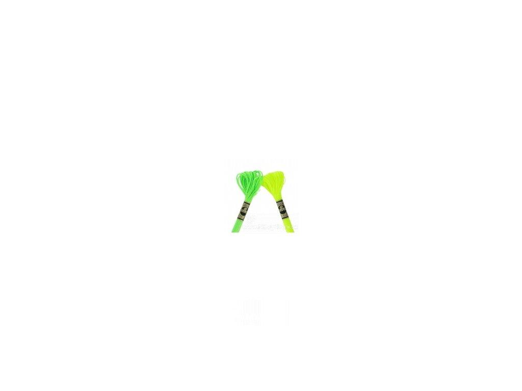 DMC E980 Fluorescents - Neon Yellow (8m)