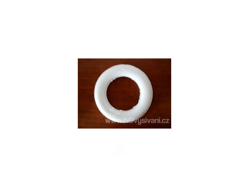 VN15 Polystyrenový věnec plný 15cm