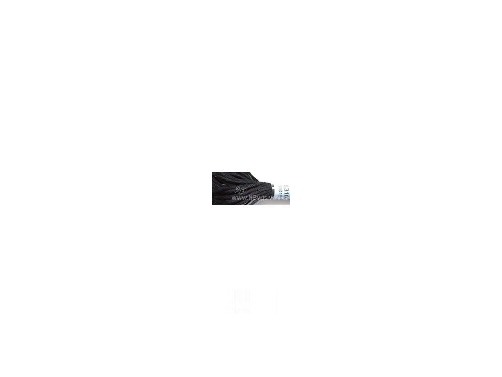 DMC S310(30310) Satin - Black (8m)