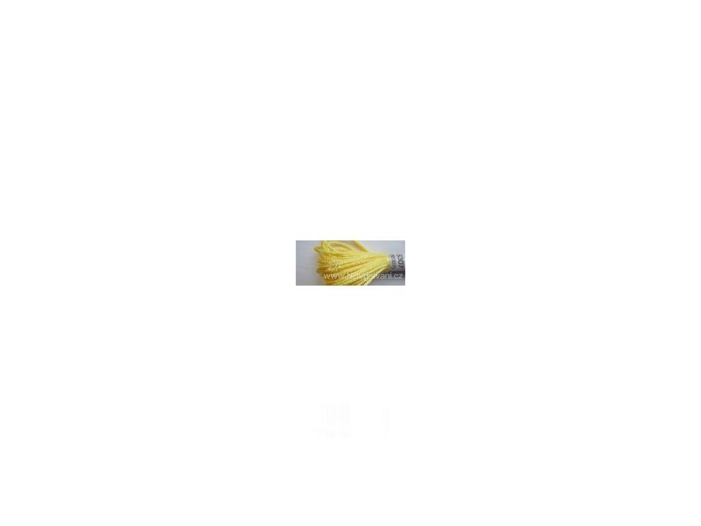 DMC S307(30307) Satin - Lemon (8m)