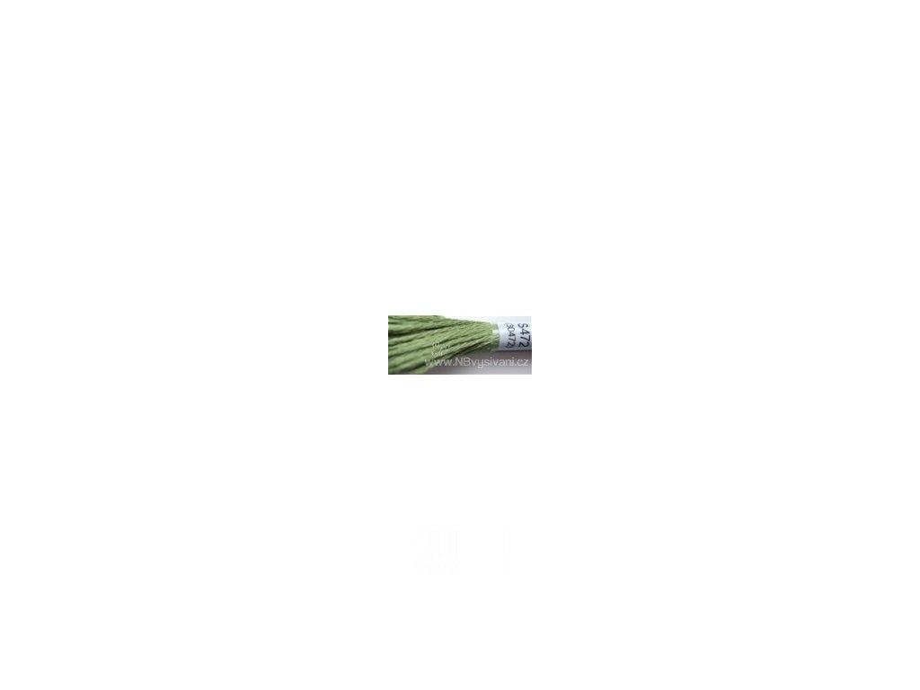 DMC S472(30472) Satin - Ultra Light Avocado Green (8m)