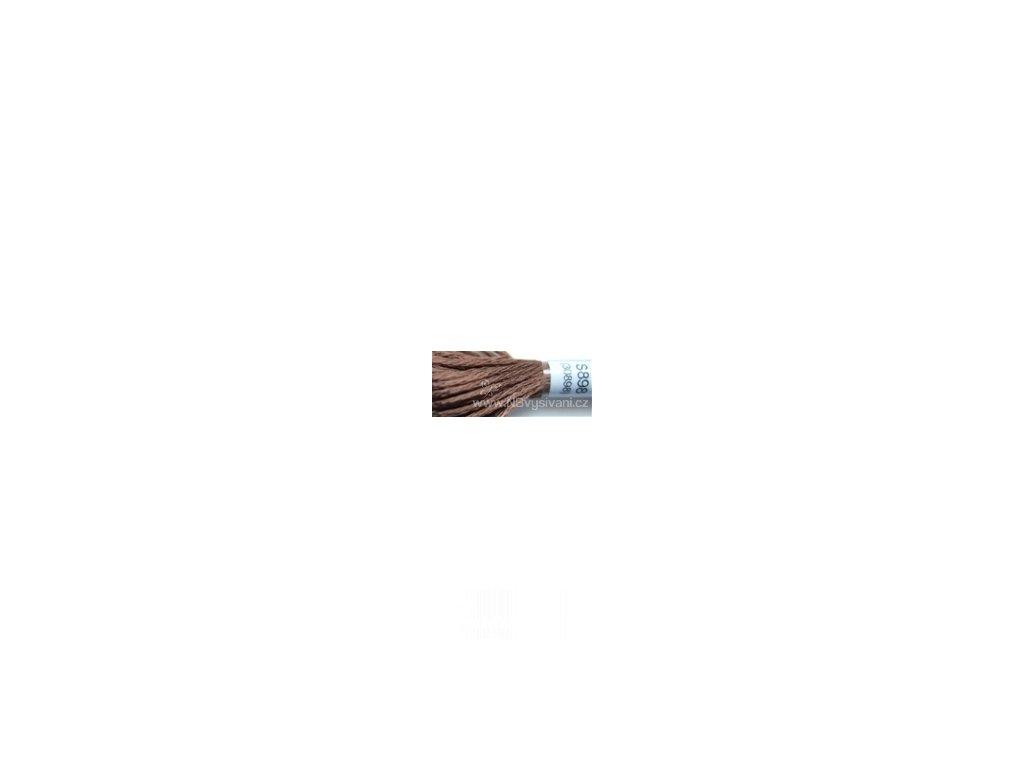 DMC S898(30898) Satin - Very Dark Coffee Brown (8m)