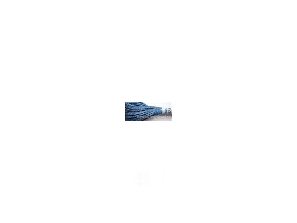 DMC S931(30931) Satin - Medium Antique Blue (8m)