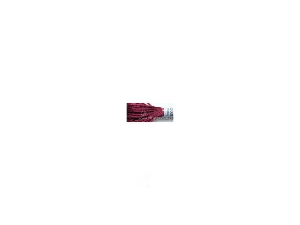 DMC S3685(33685) Satin - Dark Mauve (8m)