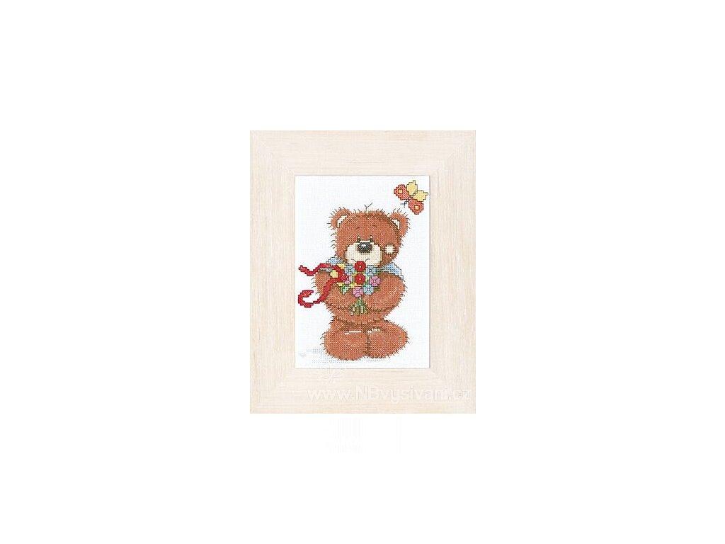 L15622 Medvídek Bolly - jaro (doprodej)