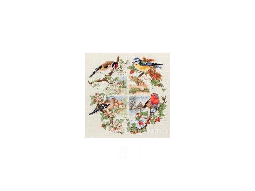 A-PCE880 Ptáčci v ročních obdobích
