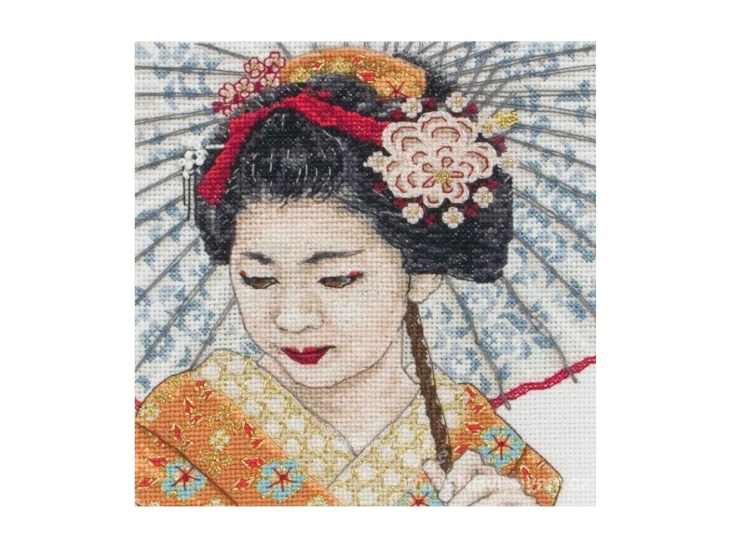 AM5678000-05031 Geisha Portrait