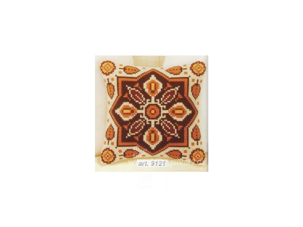 OR9121 Polštář s ornamenty