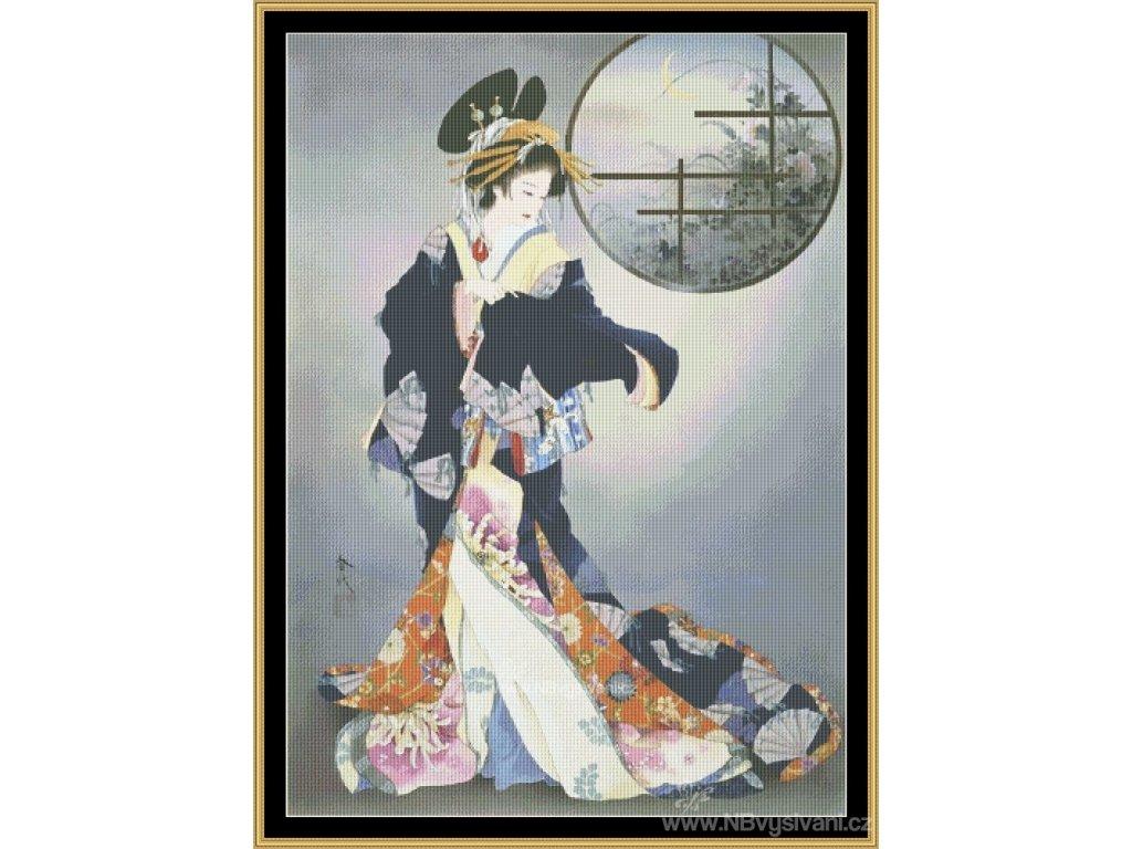 MS-MGL05 Tsukiakari (Aida 18ct)