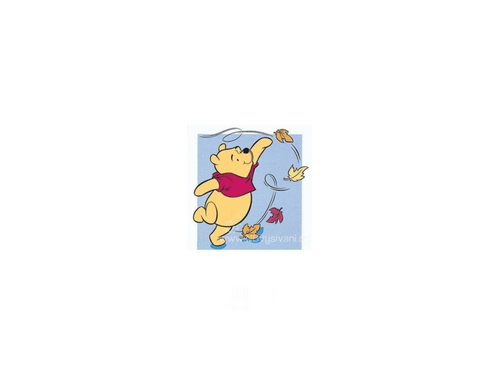 ARP988.0104.27 Medvídek Pú a poletující listí