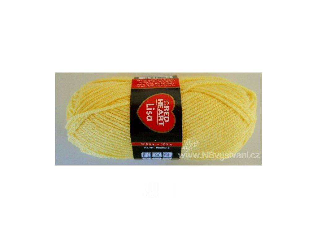 9809619-00215 Lisa 50g - Light Yellow (doprodej)
