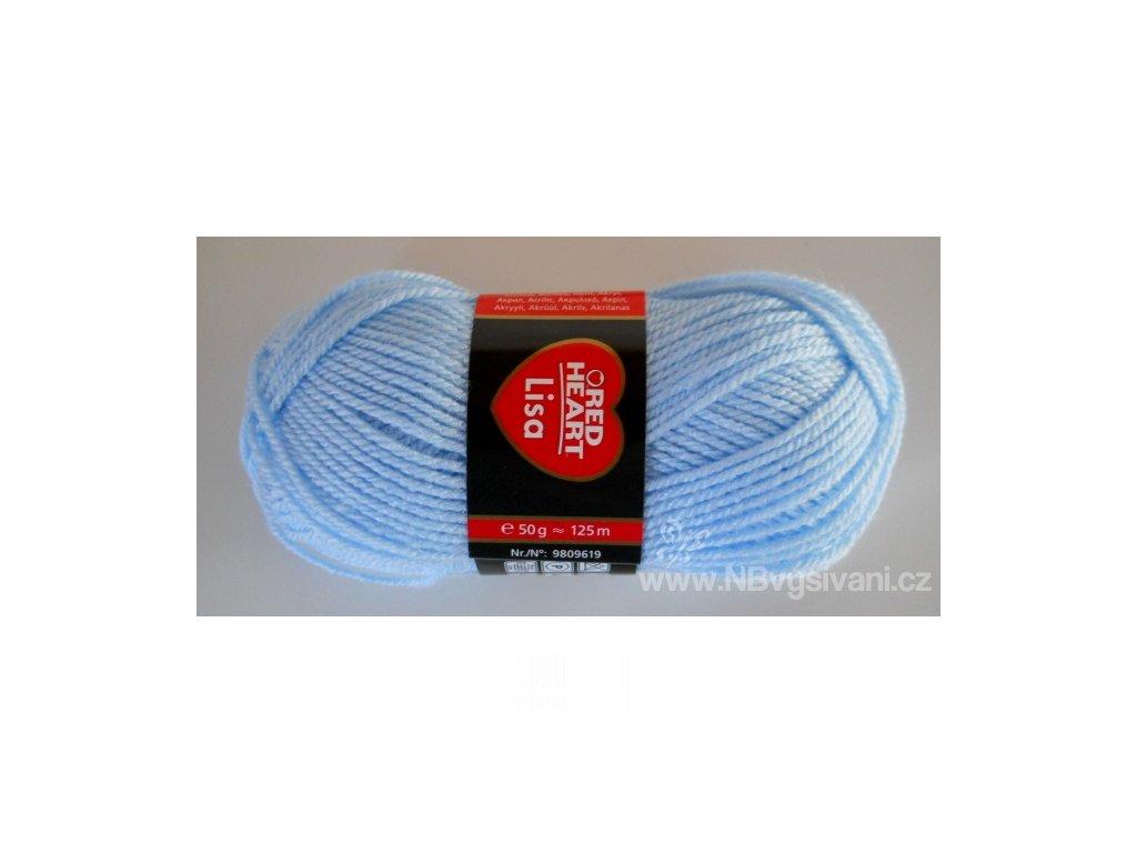 9809619-05665 Lisa 50g - Baby Blue (doprodej)