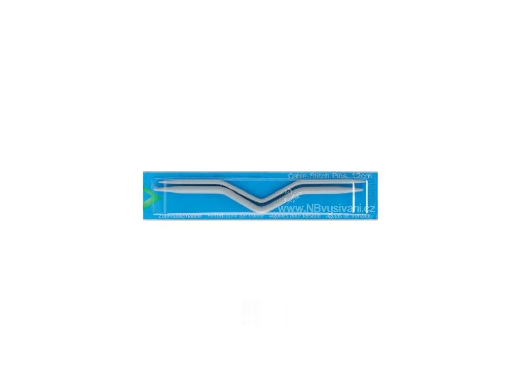 2235207 Pletací jehlice na copánkový vzor 12cm