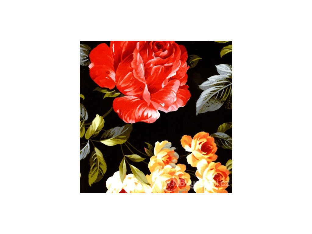 PF120-9001 Floral Vignettes Large Rose (10cm)