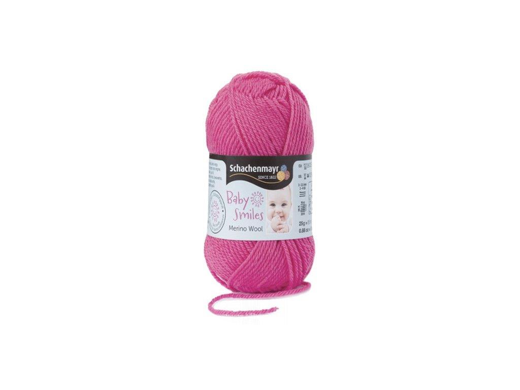 9807396-00035 Baby Smiles Merino Wool 25g - rosa