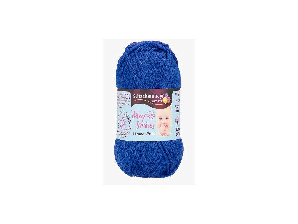 9807396-00051 Baby Smiles Merino Wool 25g - blau