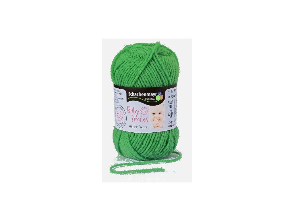 9807396-00071 Baby Smiles Merino Wool 25g - grün
