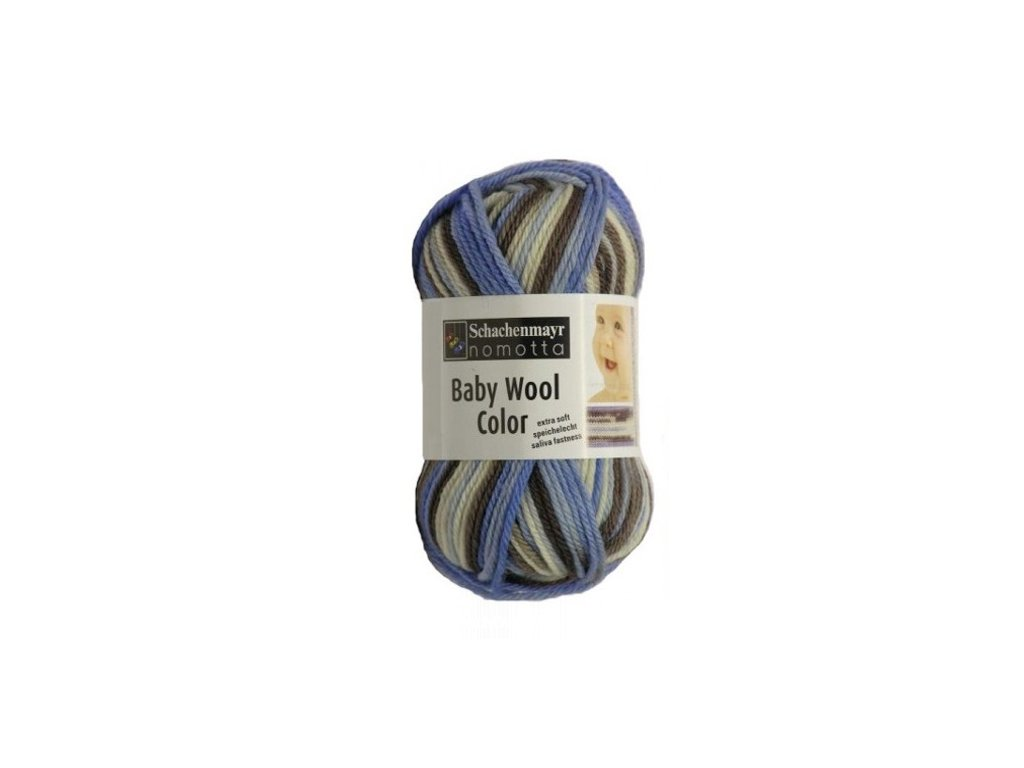 9807396-00180 Baby Smiles Merino Wool 25g -mineral color