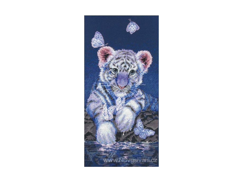 AM5678000-01165 White Baby Tiger