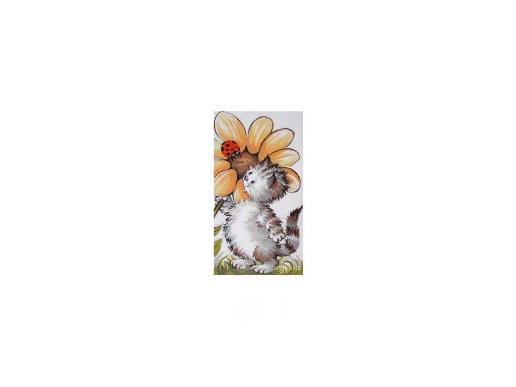 ARP988.0131.155 Kotě s květinou
