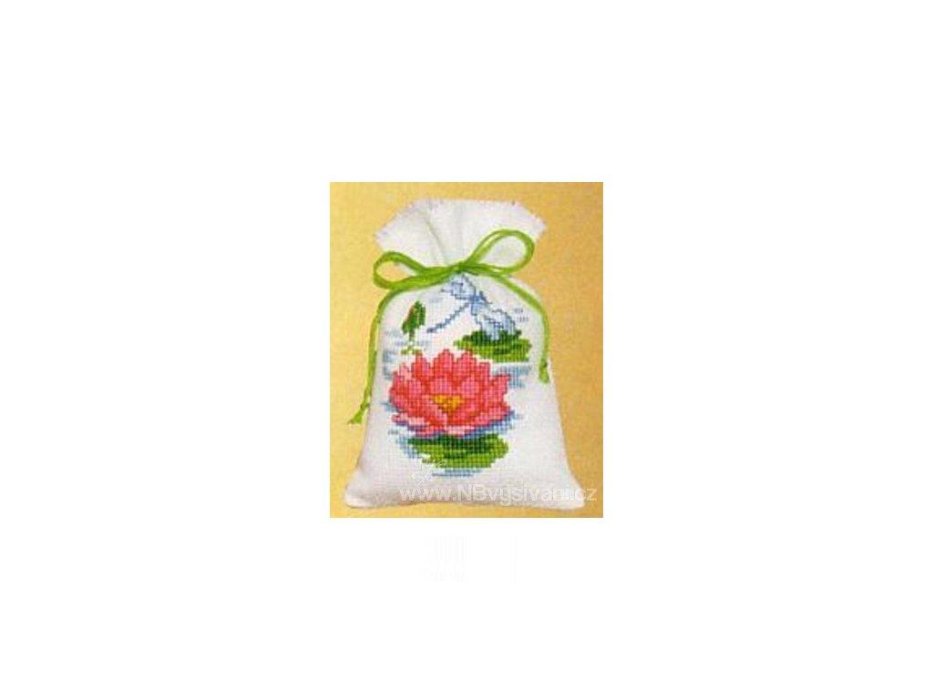 VE2002-48.229 Dekorační sáček - lotosový květ