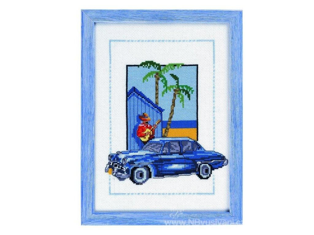 PER92-8128 Modrý pozdrav z Kuby