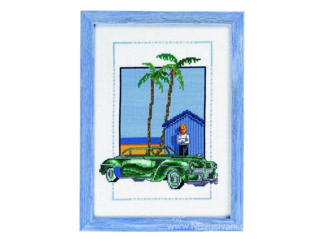 PER92-8126 Zelený pozdrav z Kuby