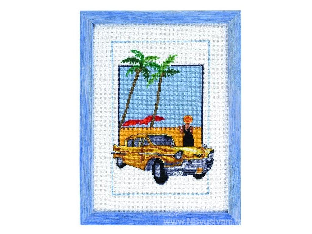 PER92-8125 Žlutý pozdrav z Kuby