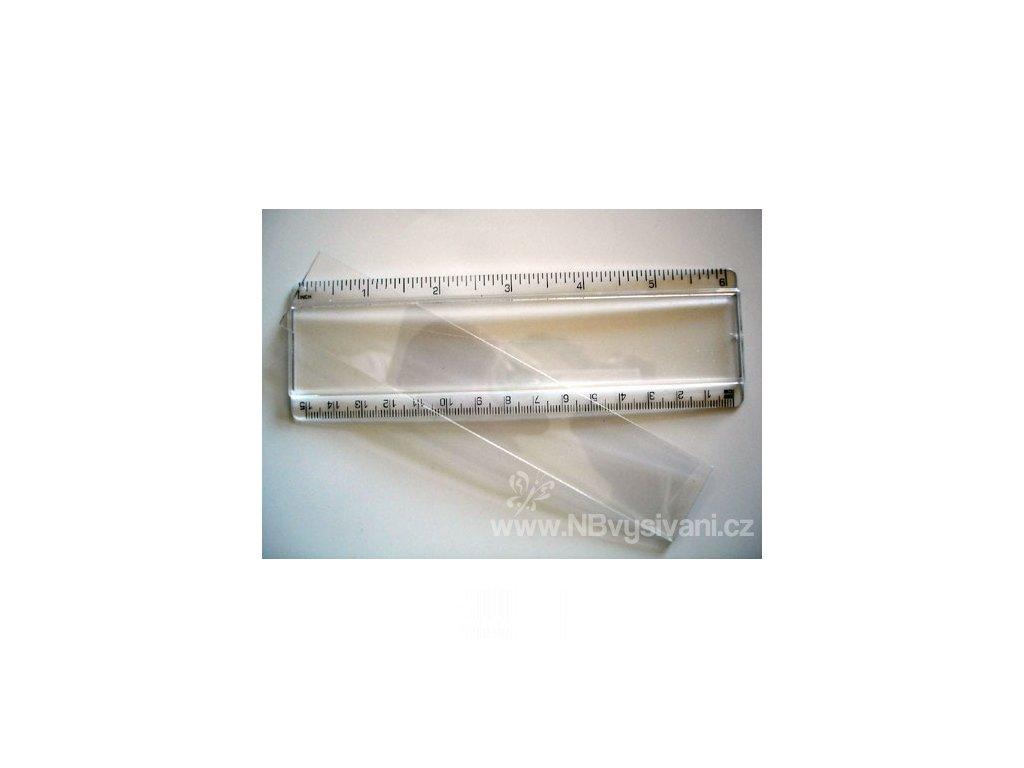 RR-PRU6 Plastové pravítko 15cm
